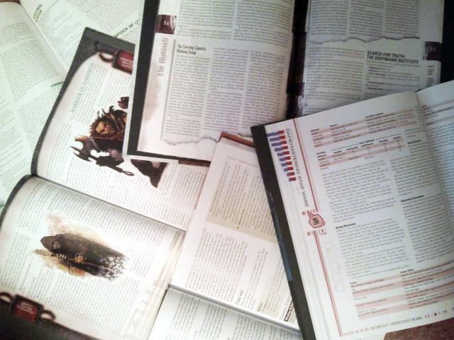 Book Pile | RPG Examples
