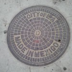 City of L.A. Manhole Cover ... Made in Mexico